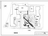 某医院绿化环境景观CAD施工设计图图片3