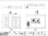 某中式园林风格别墅装修图(含效果图)图片3