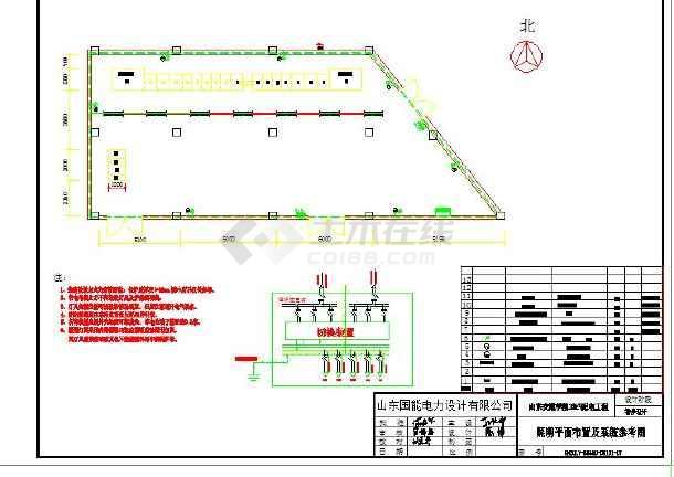 学校学院电气图纸-图2