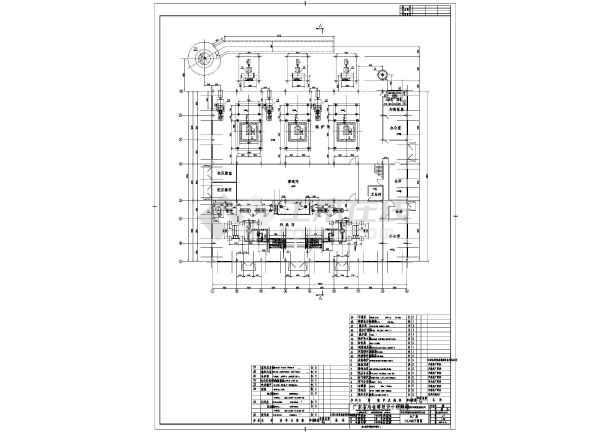 点击查看龙岩某电厂电气图纸第1张大图