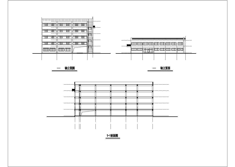 综合楼热水采暖系统图纸图片1
