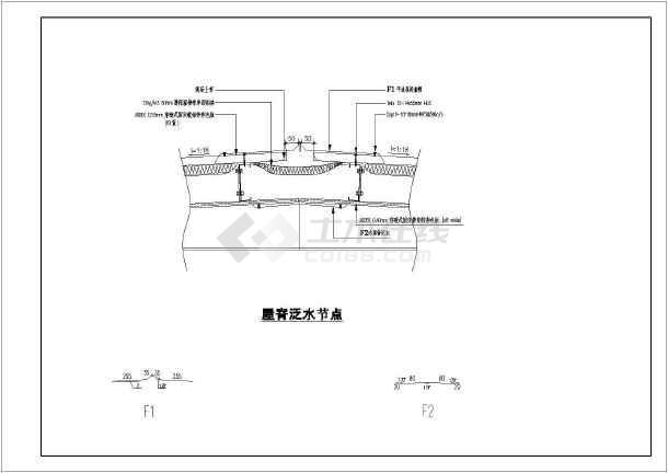 某工程钢结构建筑cad设计详图-图一