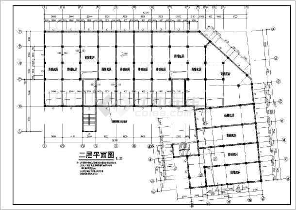 多层住宅建筑施工全套图纸-图2