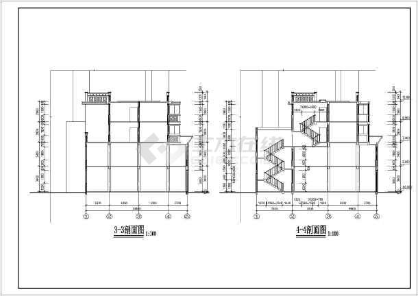 多层住宅建筑施工全套图纸-图3