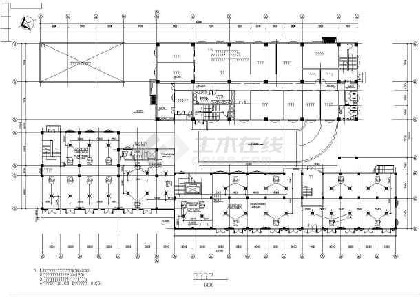 某娱乐城中央空调设计全套图纸-图3