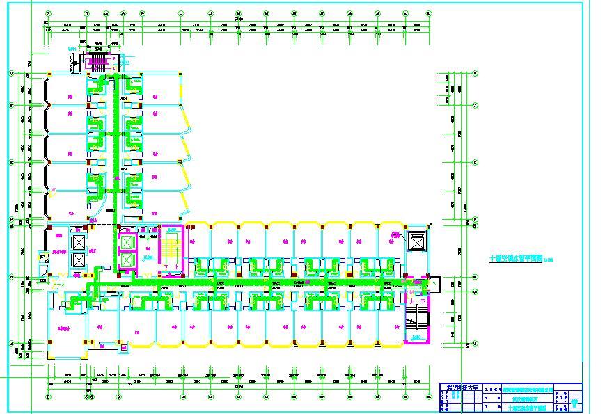 酒店空调水系统图图片1
