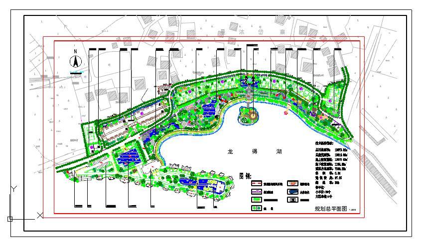 给排水规划设计总平面图图片1