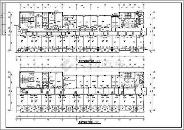 某医院医技楼中央空调设计-图1