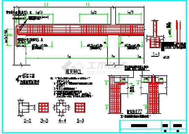 常用结构构造工程结构CAD设计图纸-图3