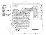 某高层建筑屋顶花园绿化cad设计平面施工图图片3