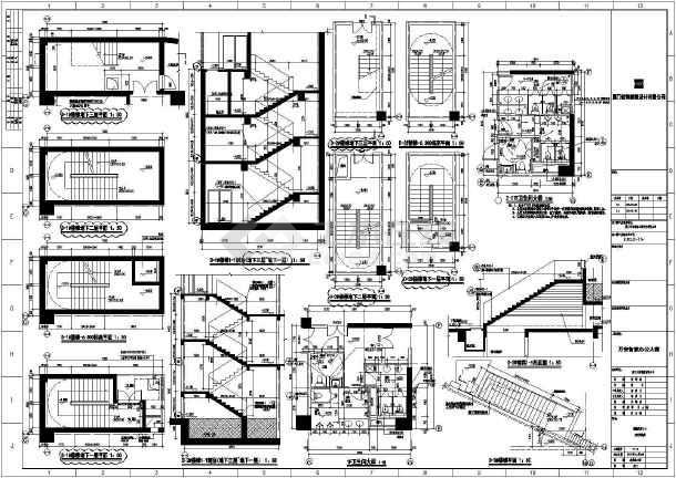 点击查看某地小型楼梯卫生间设计详图(共3张)第1张大图