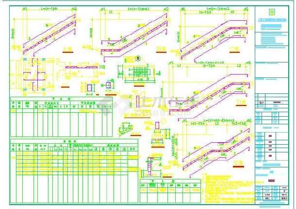 点击查看某地阳台加楼梯植筋结构设计详图(含设计说明)第1张大图