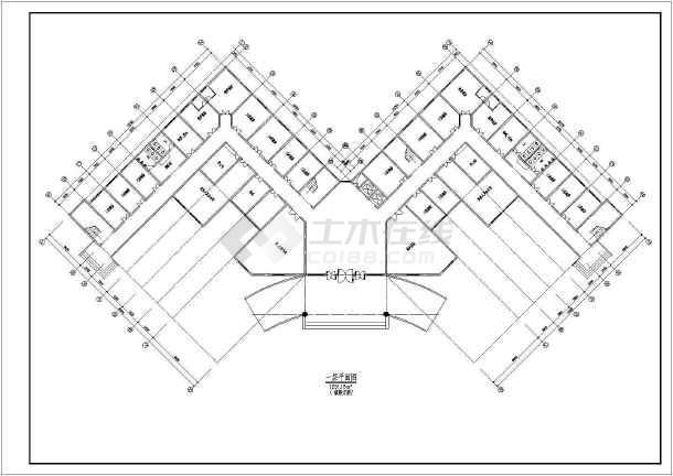某医院总体及建筑设计方案-图1