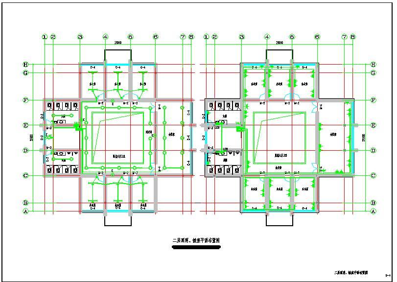 某地三层办公楼电气设计图(标注详细)图片1