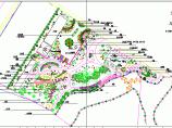 某大型公园植物配置CAD设计图纸图片1