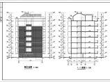 多层经济适用型公寓建筑工程的图纸图片1