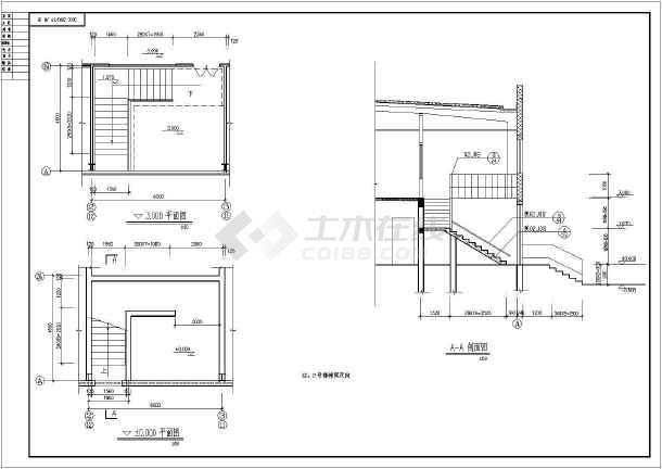 点击查看某钢结构厂房建筑构造CAD设计图纸第1张大图