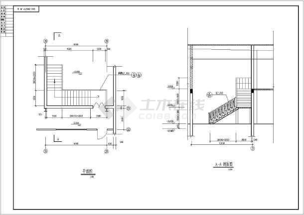 某钢结构厂房建筑构造CAD设计图纸-图1