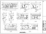 某工程泵房及屋顶消防水箱设计图纸图片1
