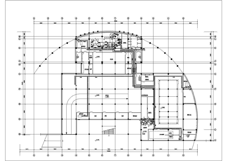 某住宅地下室中央空调全套cad设计施工图纸图片1