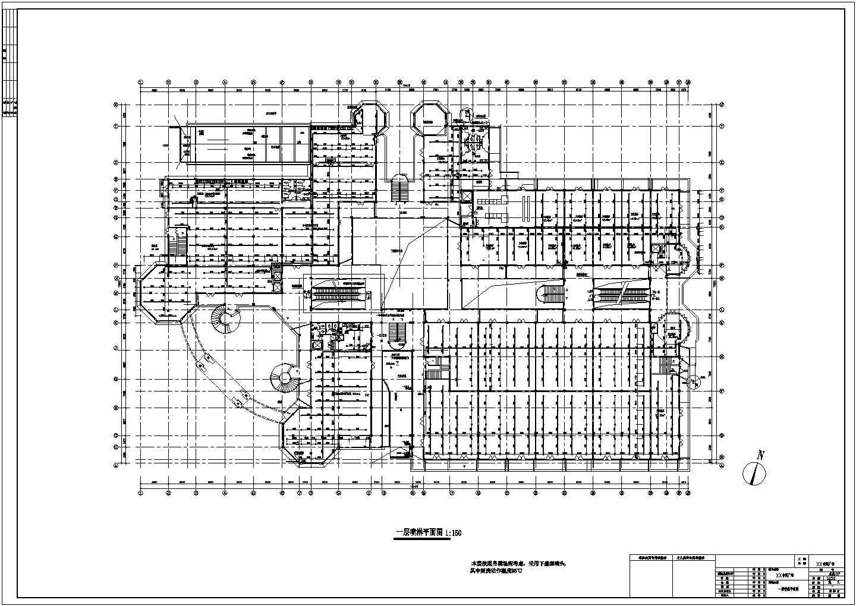 某休闲广场自动喷淋系统设计施工图纸图片3