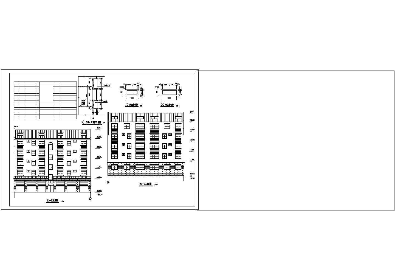 某地区大型私人住宅楼图纸(标注详细)图片2