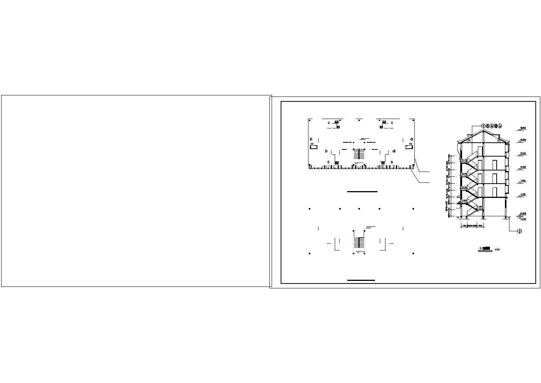 某地区大型私人住宅楼图纸(标注详细)图片3