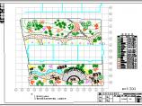北方某小区园林绿化图纸图片1