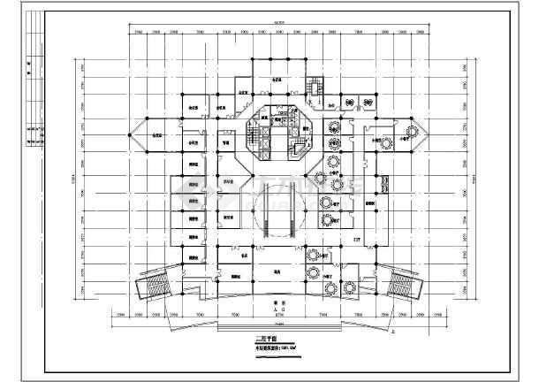 某地区高层酒店平面建筑方案文本图-图3