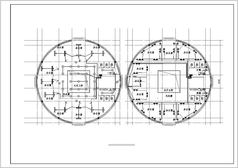 三层办公楼电气设计图(含设计说明)图片1