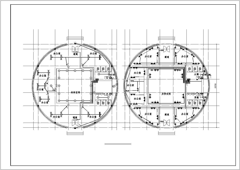 比较实用的三层办公楼电气设计图 (含设计说明)图片1
