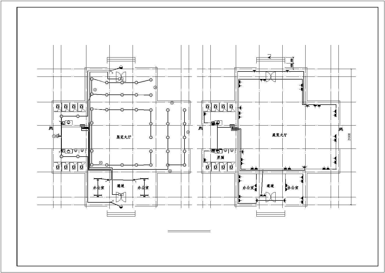 比较实用的三层办公楼电气设计图 (含设计说明)图片3