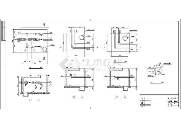 点击查看某小区采暖CAD外网施工详情图纸第1张大图