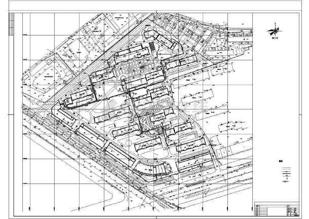 点击查看某小区采暖CAD外网施工详情图纸第2张大图