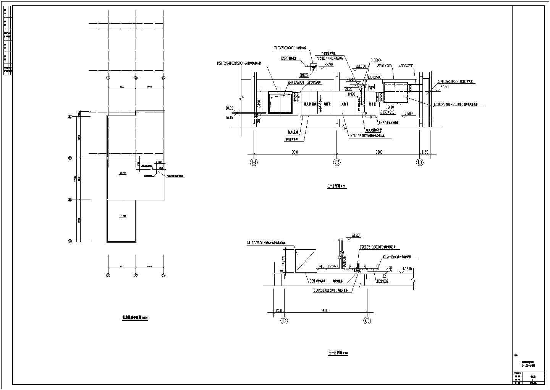 洁净厂房空调系统设计cad平面布置施工图图片1