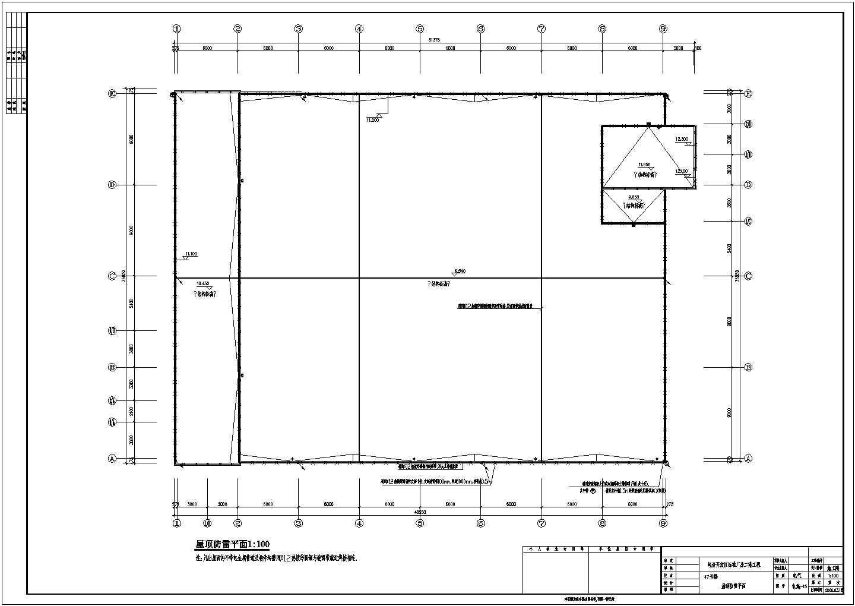 经济开发区标准厂房电气设计方案全套CAD图纸图片2