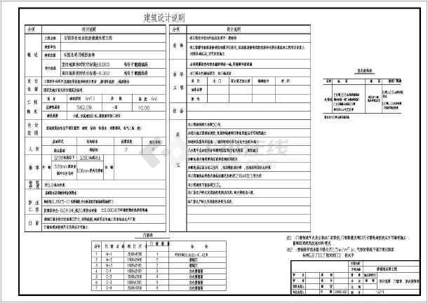 生活垃圾渗滤液处理工程环保CAD设计施工图-图1