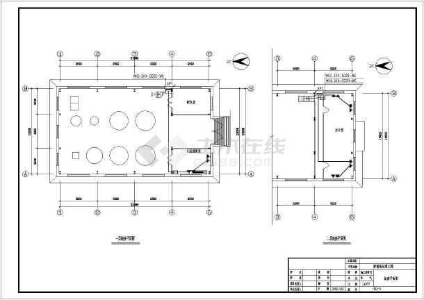 生活垃圾渗滤液处理工程环保CAD设计施工图-图3