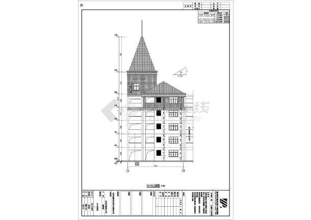 小学建筑及结构设计图(装配式楼板)-图一