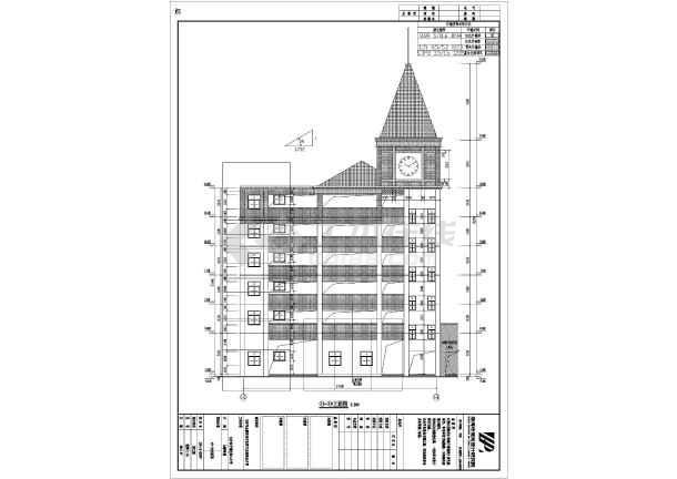 小学建筑及结构设计图(装配式楼板)-图二