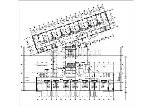 某地豪华KTV建筑效果图及建筑施工图(全套)-图一