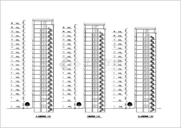 某花园小区规划文本及建筑(楼群组团)方案-图2