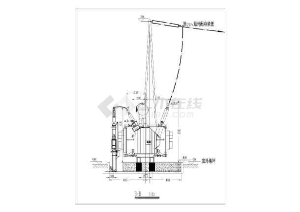 简单实用的变压器接线电气原理图纸-图二