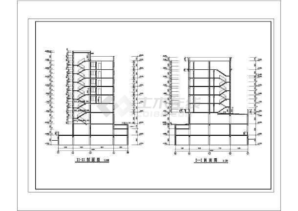 某地车间变电所低压电气控制原理图(全套)-图二