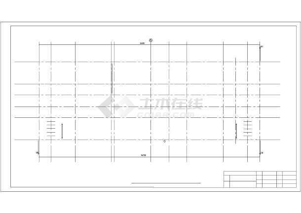 中国银行郑州市分行综合办公楼设计cad详图-图2