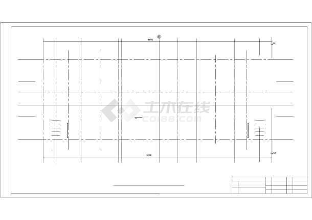中国银行郑州市分行综合办公楼设计cad详图-图3