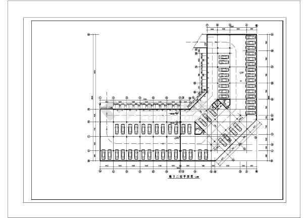 某地直燃机一级冷水泵控制柜电气控制原理图纸(全套)-图二