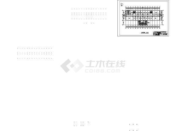 池州富华行政指挥中心施工组织设计cad图及说明-图1
