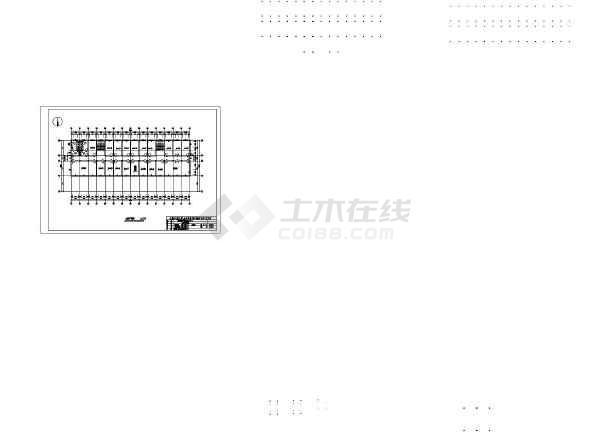 池州富华行政指挥中心施工组织设计cad图及说明-图2