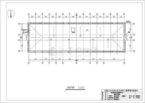 池州富华行政指挥中心施工组织设计cad图及说明-图3